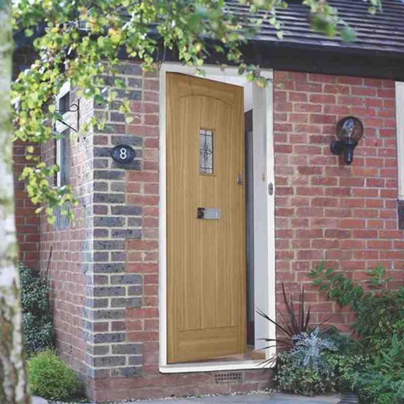 Exterior Oak Veneer Croft & Exterior Oak Croft | Chislehurst Doors