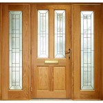 Exterior Oak Veneer Malton Triple Glazed M&T Door Set