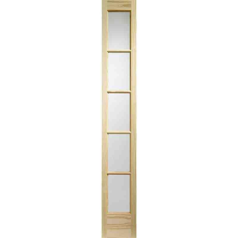 Glazed Sa77 Demi Panel Chislehurst Doors