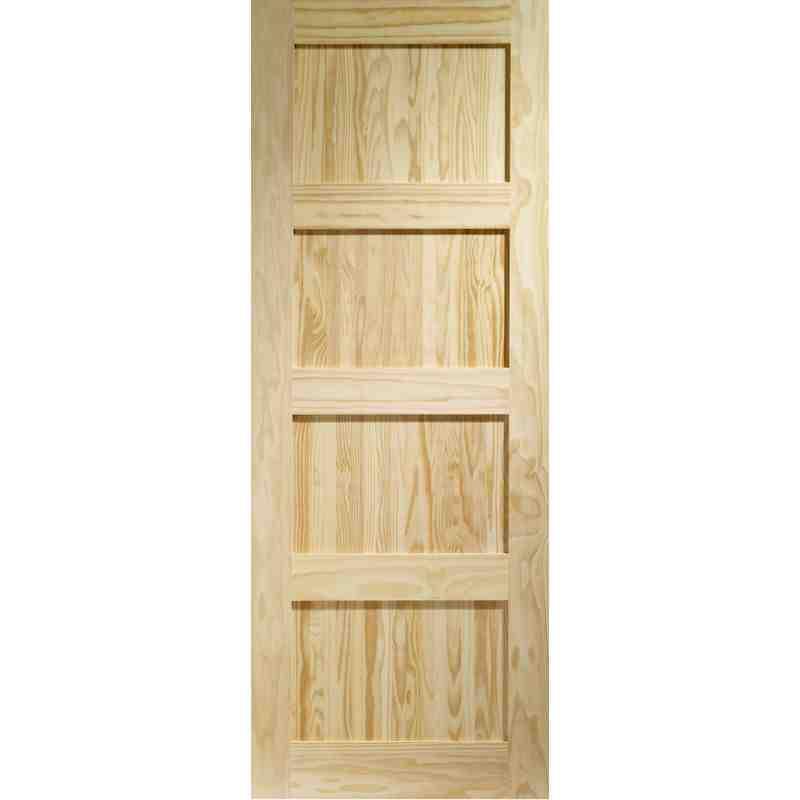 Clear Pine Shaker 4 Chislehurst Doors