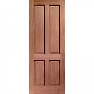 Interior Hardwood Veneer 4 Panel