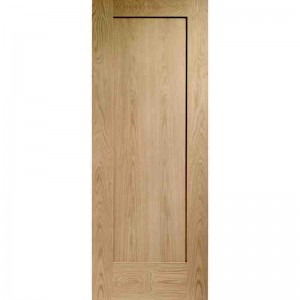 Interior Oak Veneer 1 Panel Pattern 10 Shaker