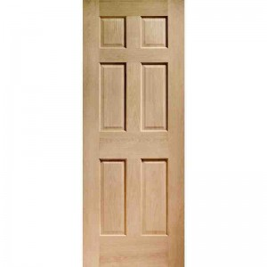 Interior Oak Veneer Colonial 6 Panel