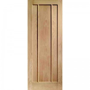 Interior Oak Veneer Ripon 3 Panel