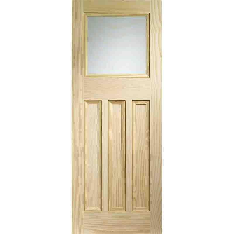 Pine Vine Dx Obscure Glazed Chislehurst Doors
