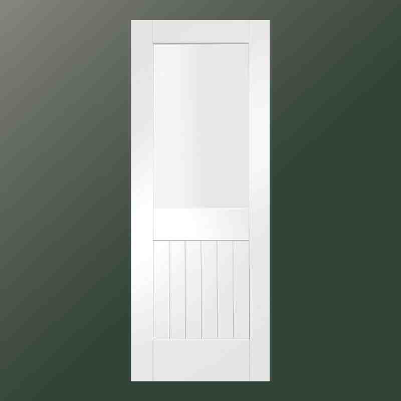 Interior clear glass door for 1 lite clear glass pine primed white prehung interior door