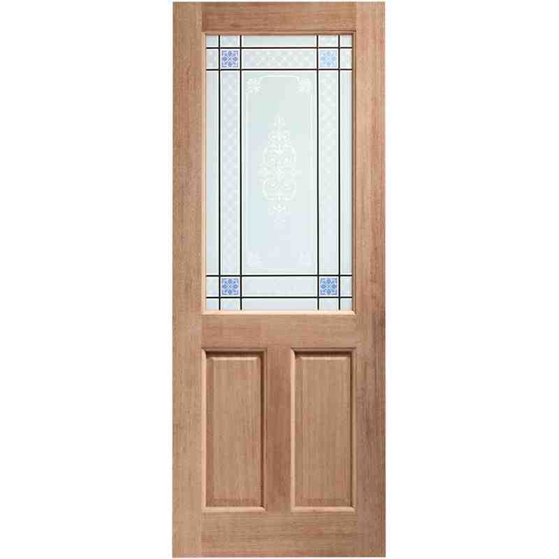 Carrol glazed 2xg m t chislehurst doors for Hardwood entrance doors