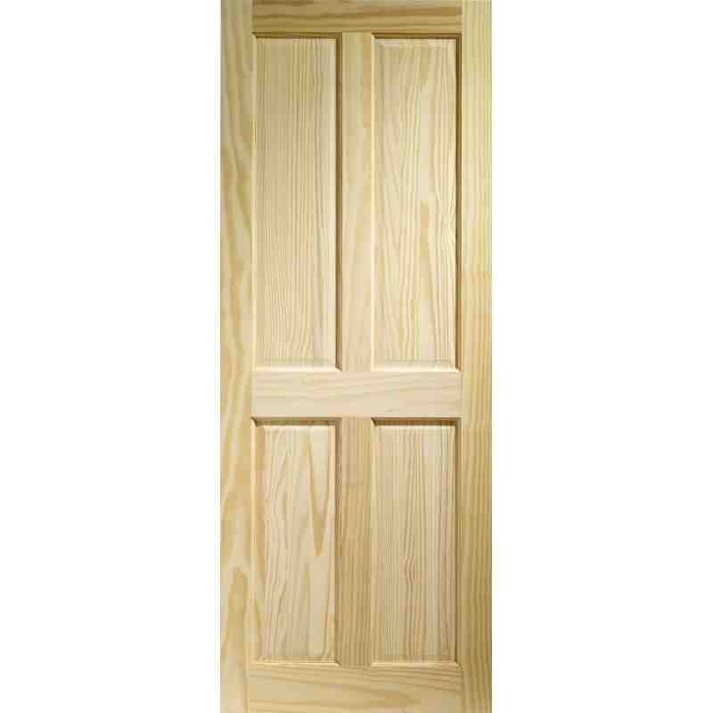 Clear pine 4p fd30 chislehurst doors for Interior panel doors