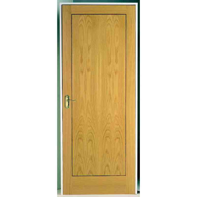 Inlaid oak panel fd30 chislehurst doors for Oak interior doors