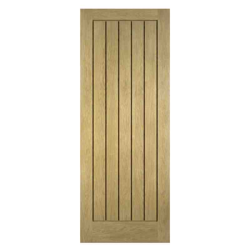 Oak doors oak panelled doors for Interior panel doors