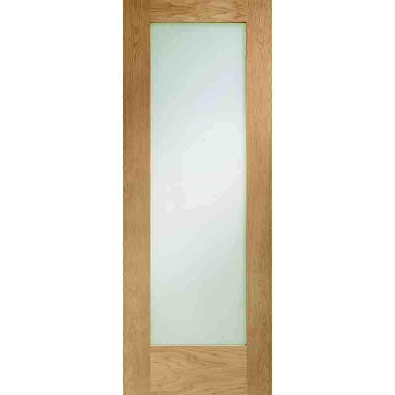 Oak P10 Clear Glazed Fd Chislehurst Doors