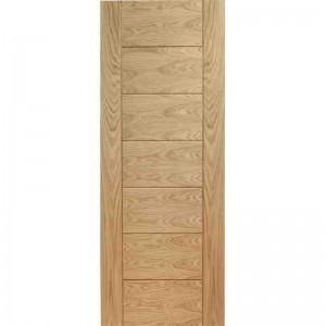 Interior Pre-Finished Oak Veneer Palermo Fire Door FD30