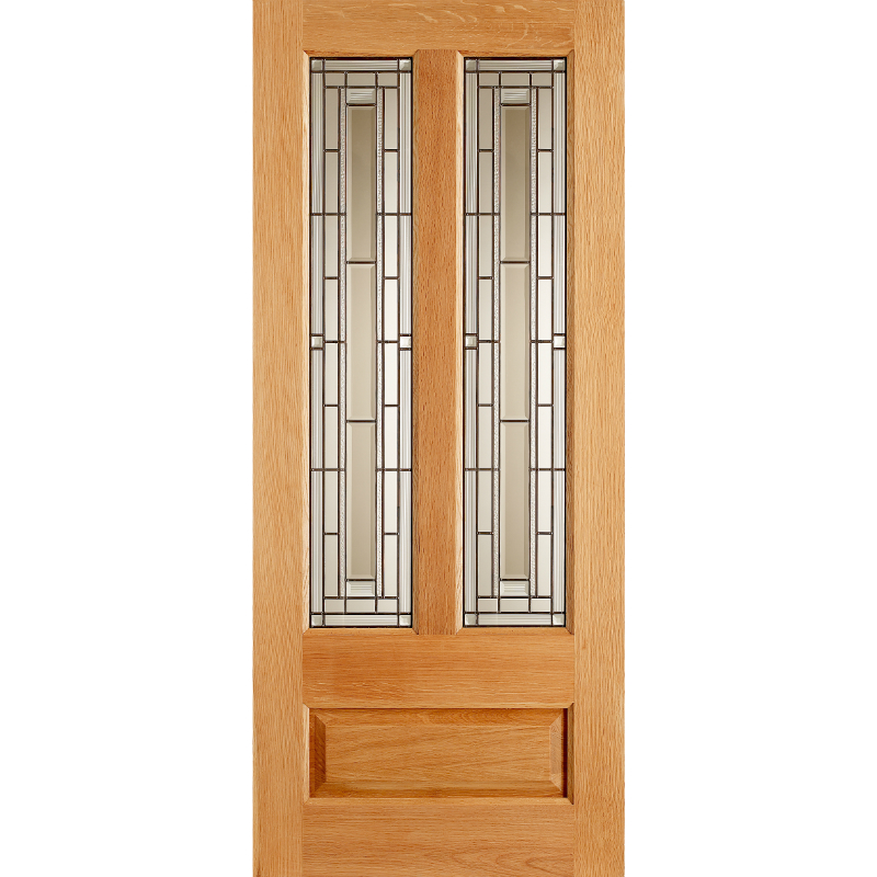 Granada oak triple chislehurst doors for Triple french doors exterior