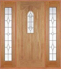 External Oak Westminster Sidelight Set & External Oak Westminster Sidelight Set | Chislehurst Doors
